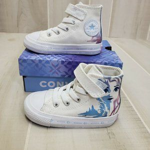 Converse Frozen 2 Elsa High Top Sneakers Sz 5